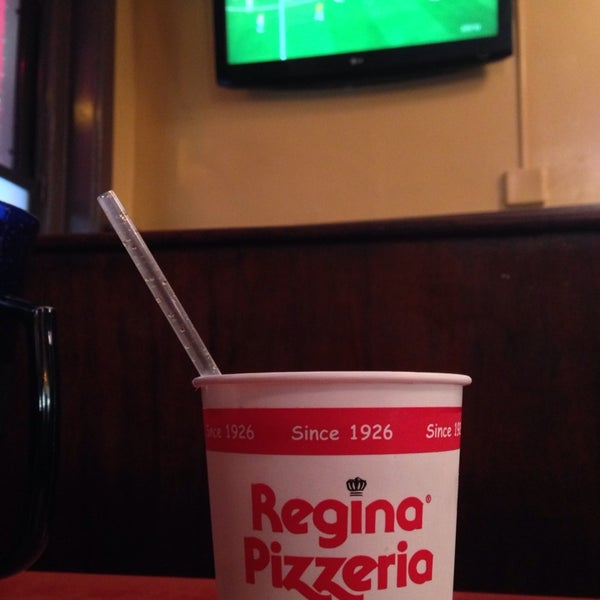 Photo taken at Regina Pizzeria by Peter on 6/12/2014