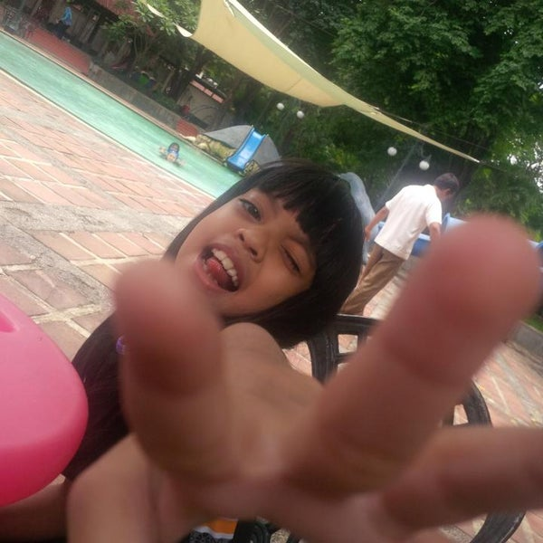 Photo taken at Graha Residence Swimming Pool by Don D. on 1/31/2014