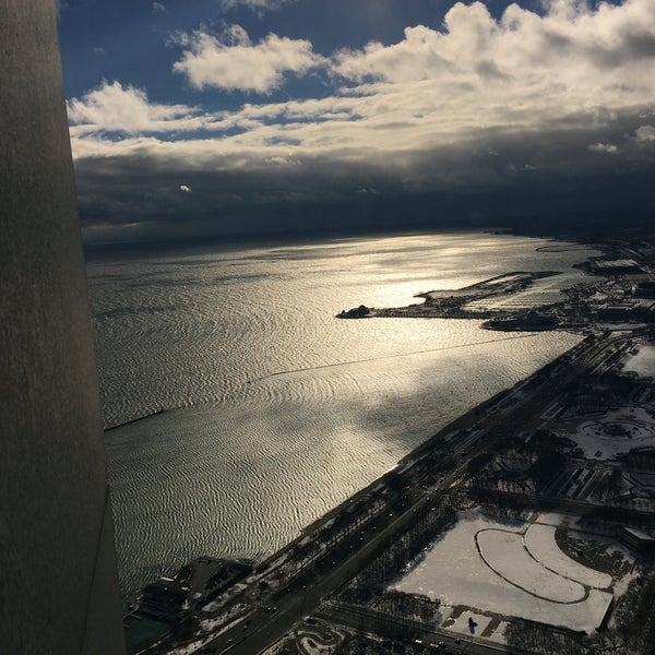 Photo taken at Aon Center by Mehul S. on 1/4/2016