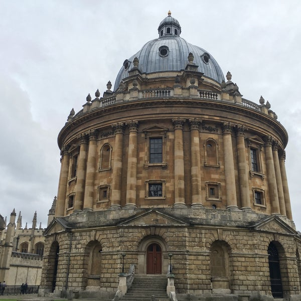 Photo taken at Radcliffe Camera by Helen Z. on 9/6/2016
