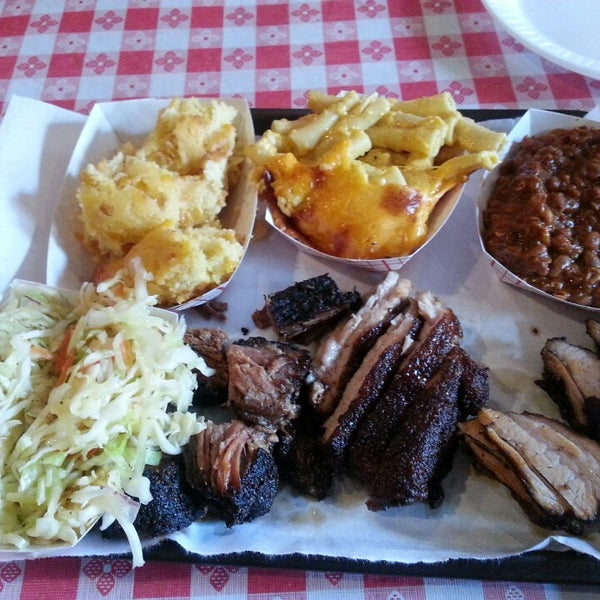 Photo taken at John Brown Smokehouse by Priscilla G. on 7/21/2013