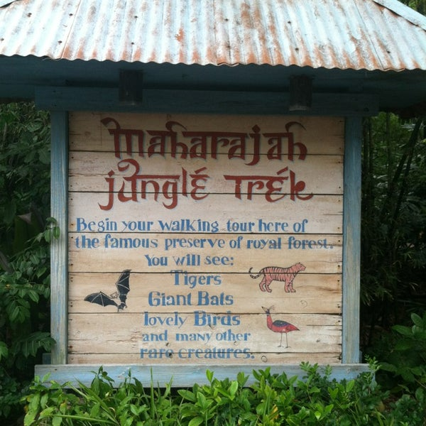 Photo taken at Maharajah Jungle Trek by Patrick B. on 1/17/2013