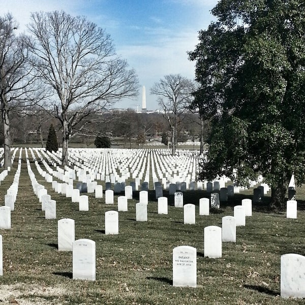 Photo taken at Arlington National Cemetery by Marta on 3/8/2014