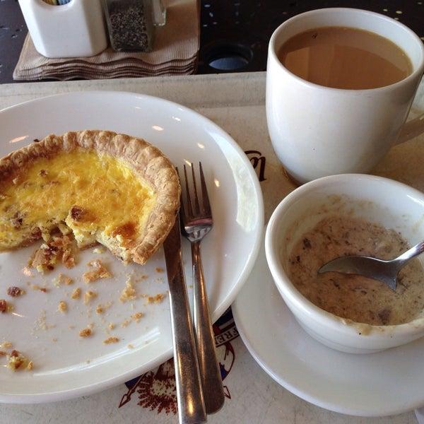 Photo taken at La Madeleine Country French Café by Miranda M. on 5/3/2014