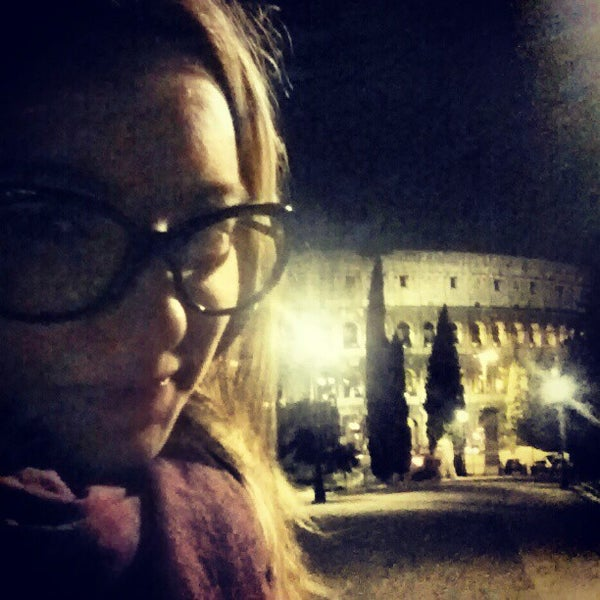 Photo taken at Piazza del Colosseo by Elisa C. on 10/19/2012