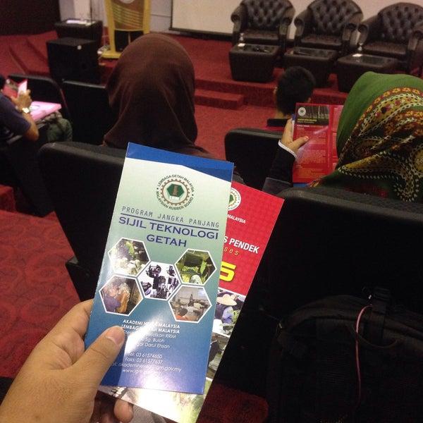 Photo taken at Lembaga Getah Malaysia by Ashrill F. on 2/18/2016