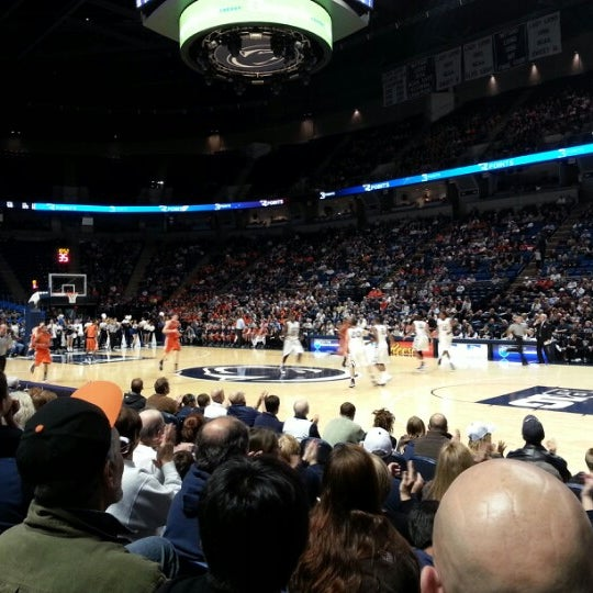 Photo taken at Bryce Jordan Center by Greg C. on 11/23/2012