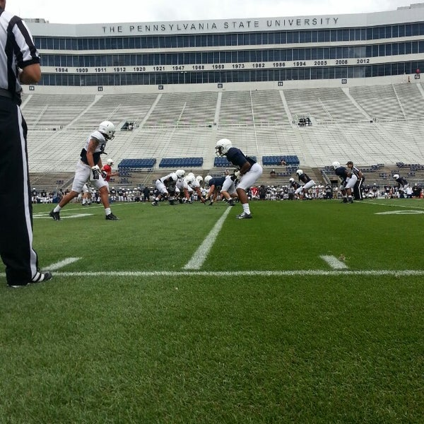 Photo taken at Beaver Stadium by Greg C. on 8/14/2013