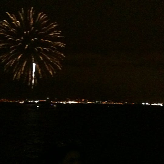 Photo taken at New York Harbor by Antonia C. on 1/1/2013
