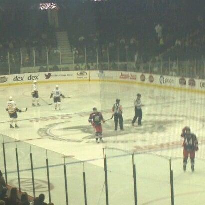 Photo taken at Allstate Arena by Joe R. on 12/8/2012