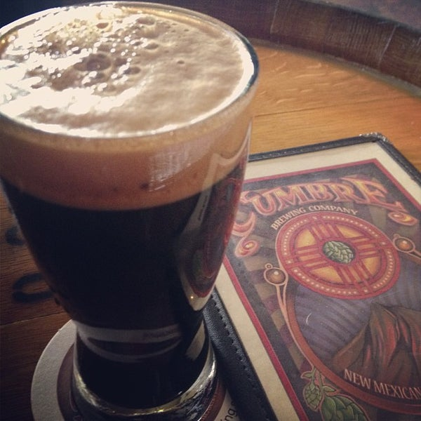 Photo taken at La Cumbre Brewing Company by Sean B. on 12/31/2012