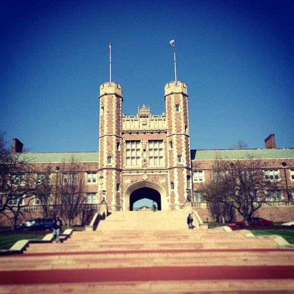 Photo taken at Washington University in St. Louis by Nick T. on 4/5/2013