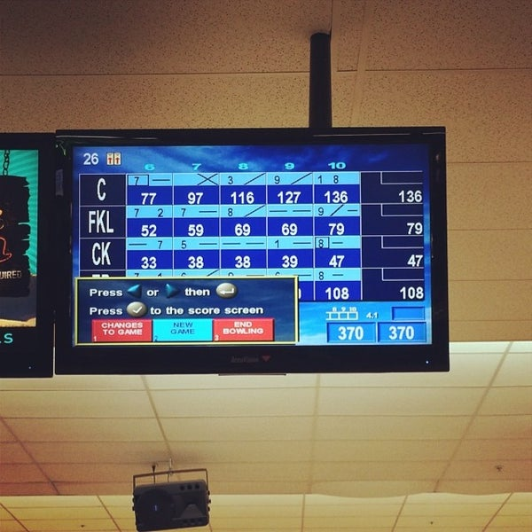 Photo taken at AMF All Star Lanes by C. P. on 6/10/2014