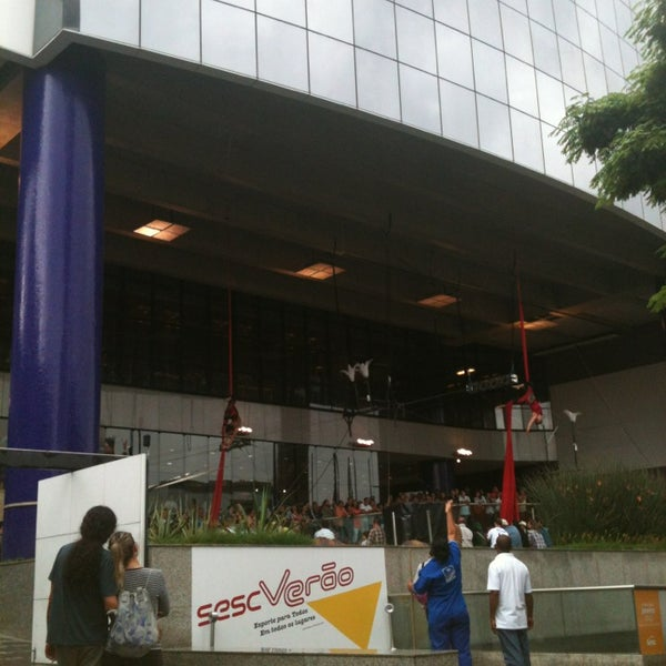 Photo taken at SESC Pinheiros by Viviane S. on 1/13/2013