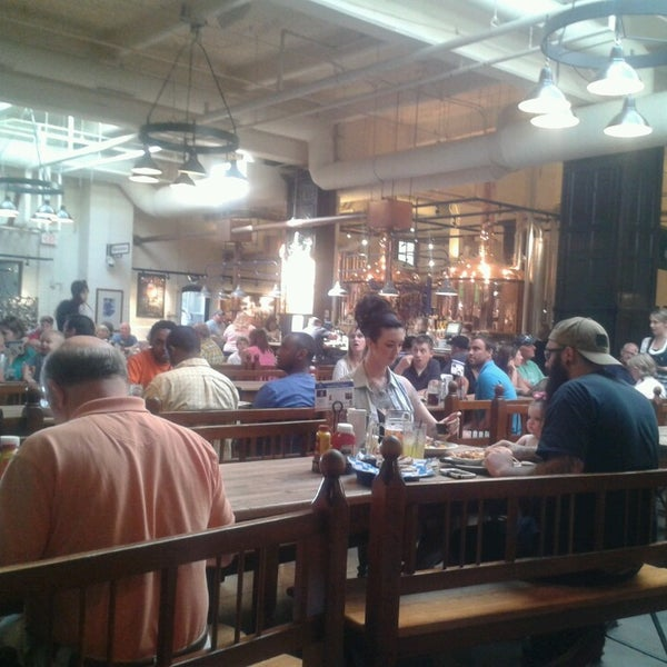 Photo taken at Hofbräuhaus Newport by Lars T. on 7/5/2014