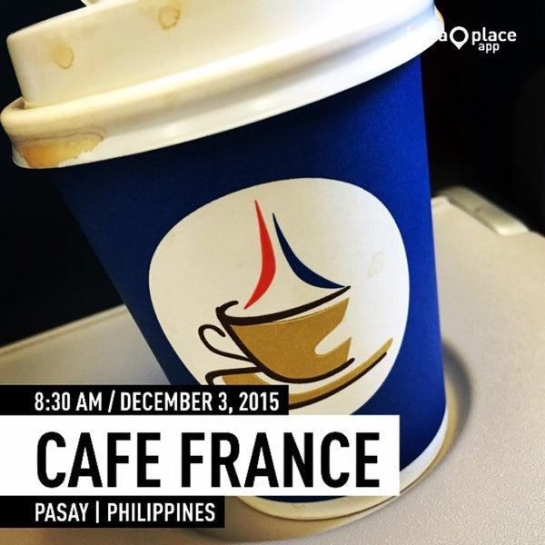 Photo taken at Café France by Don C. on 12/2/2015