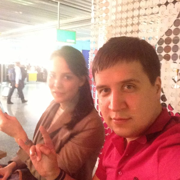 Photo taken at Gate A25 by Дмитрий Т. on 4/18/2013