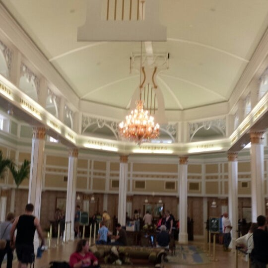 Photo taken at Disney's Port Orleans Riverside Resort by Scott Z. on 2/24/2014