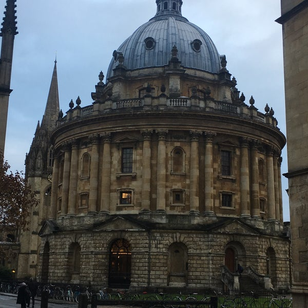 Photo taken at Radcliffe Camera by Cintain 昆. on 11/22/2016