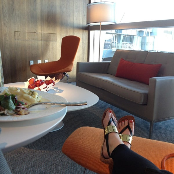 Photo taken at The Centurion Lounge by American Express by Caitlin O. on 5/20/2013