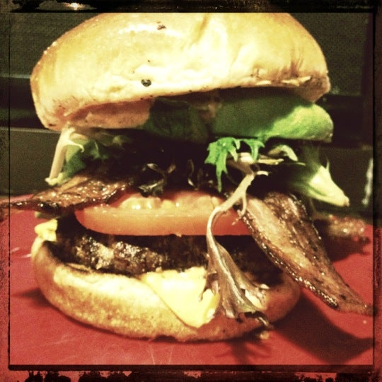 Photo taken at G Burger by Valentino L. on 10/22/2012