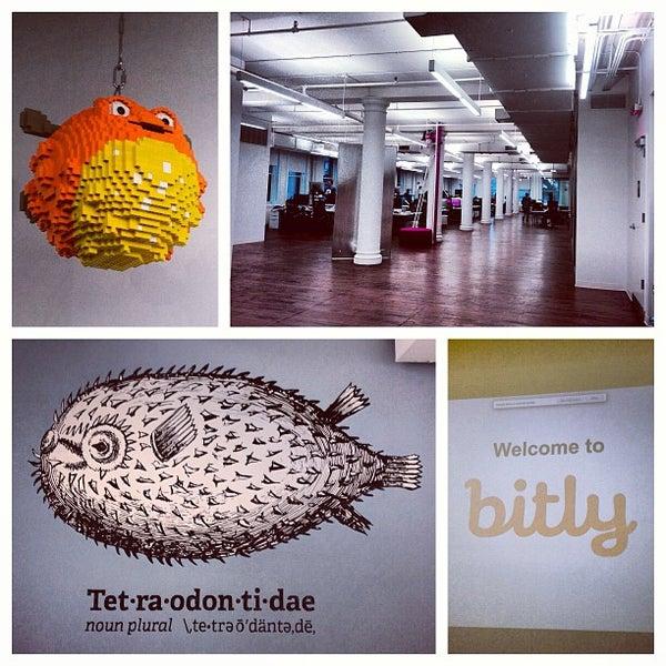 Photo taken at Bitly HQ by Grace C. on 4/19/2013