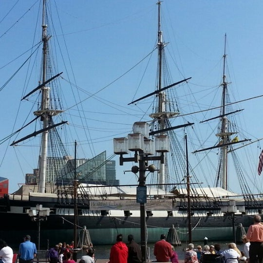 Photo taken at USS Constellation by Craig B. on 9/25/2012