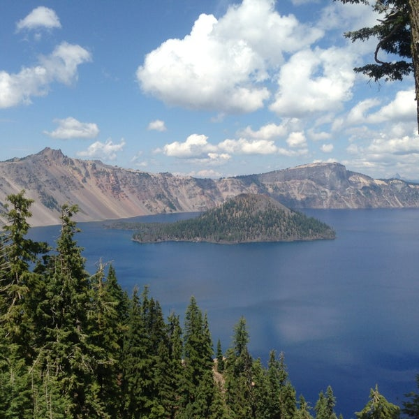 Photo taken at Crater Lake National Park by Matt H. on 8/11/2013