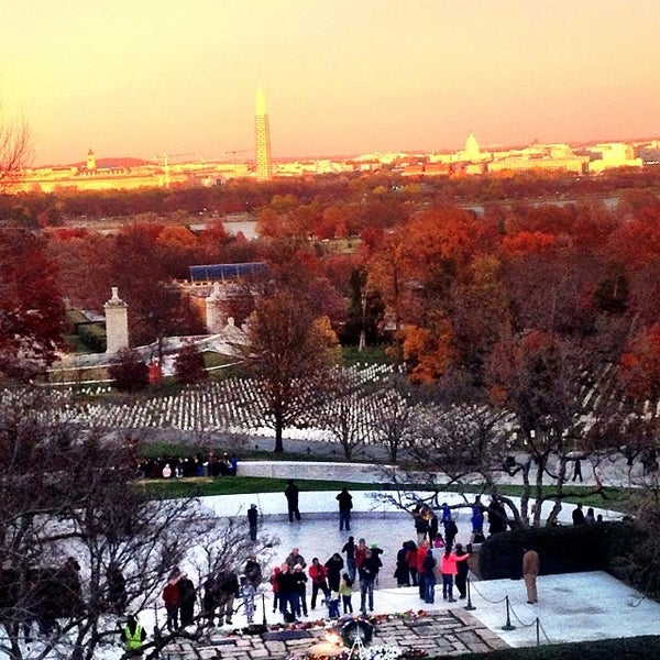 Photo taken at Arlington National Cemetery by Bob B. on 11/23/2013