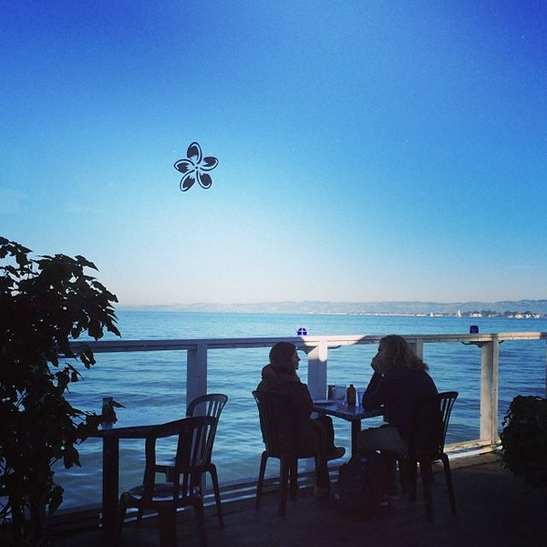 Photo taken at Pier 23 Cafe by Madison L. on 1/4/2014