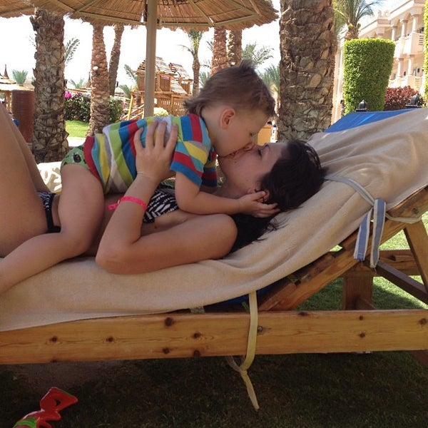 Photo taken at Albatros Palace Resort & Spa by Alexander D. on 3/28/2013