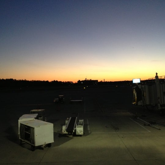 Photo taken at Portland International Jetport (PWM) by Cat H. on 11/6/2012
