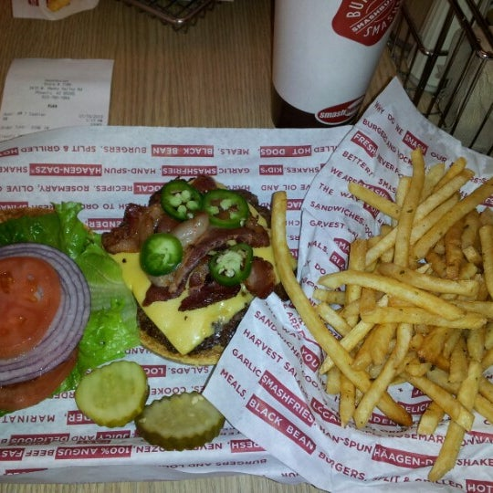 Photo taken at Smashburger by Scott S. on 1/15/2013