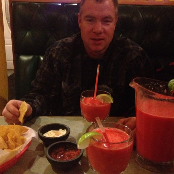 Photo taken at Rey Azteca Mexican Restaurant by Angela M. on 2/21/2014