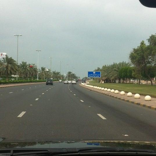Photo taken at Gulf street by Abdulaziz on 11/20/2012