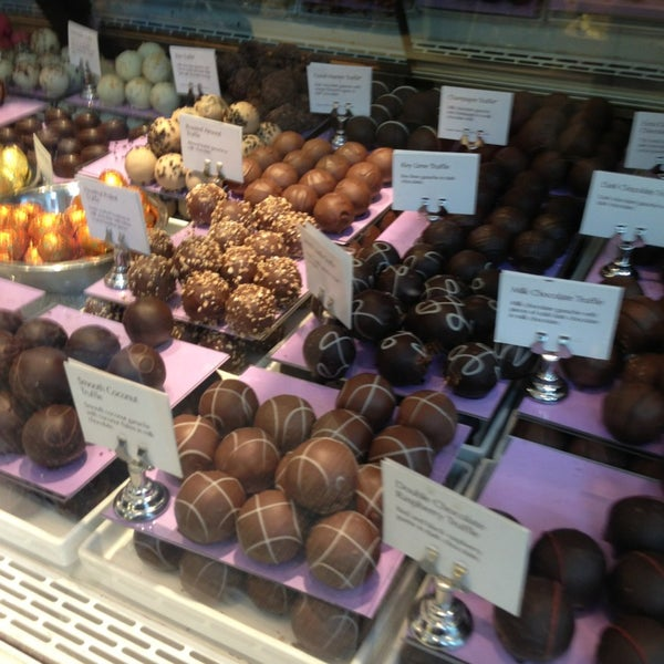 Photo taken at Godiva Chocolatier by Armine A. on 3/15/2013