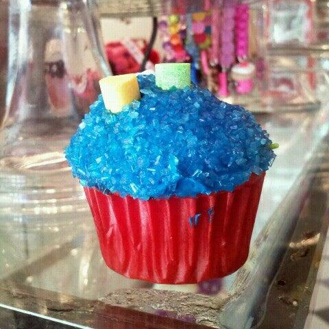 Pitufi cupcake