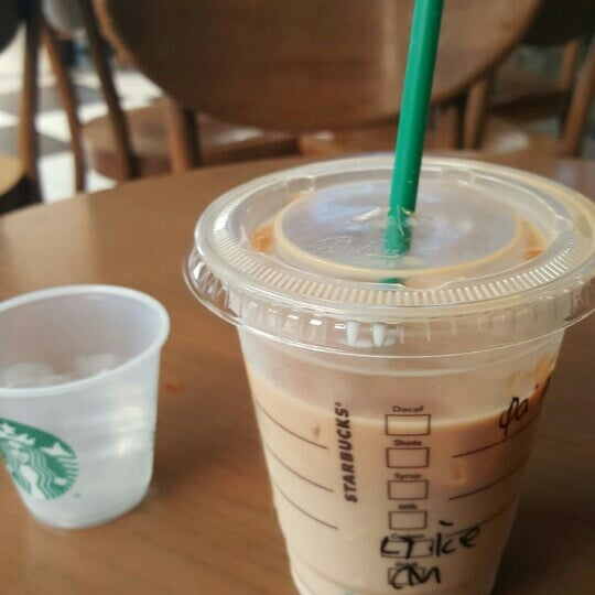 Photo taken at Starbucks by Indra M. on 11/14/2015