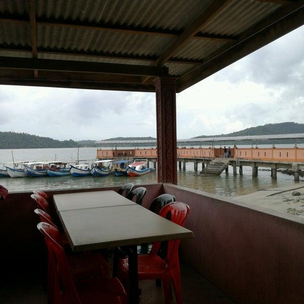 Photo taken at Tanjung Dawai by nain z. on 8/27/2016