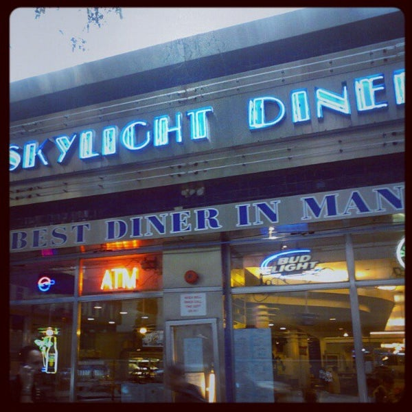 Photo taken at Skylight Diner by high c. on 9/27/2012