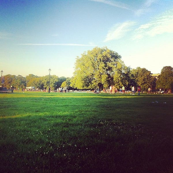 Photo taken at Clapham Common by Jesse J. on 8/18/2012