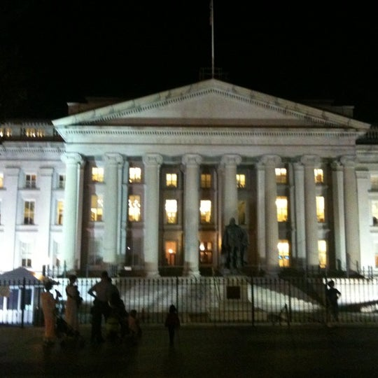Photo taken at US Department of the Treasury by Jordan B. on 10/5/2011