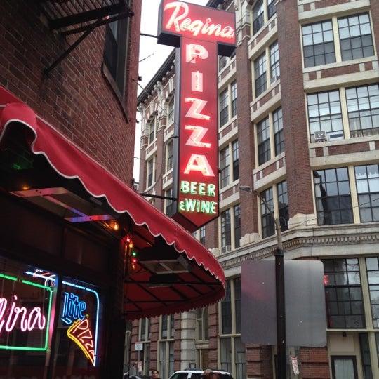 Photo taken at Regina Pizzeria by Nadine B. on 7/29/2012