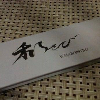 Photo taken at Wasabi Bistro at at Mandarin Oriental, Kuala Lumpur by Farah M. on 1/2/2012