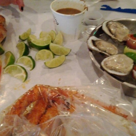 Photo taken at The Boiling Crab by Mike D. on 1/24/2012