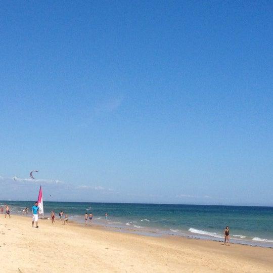 Photo taken at Praia do Barril by Nuno A. on 8/25/2012