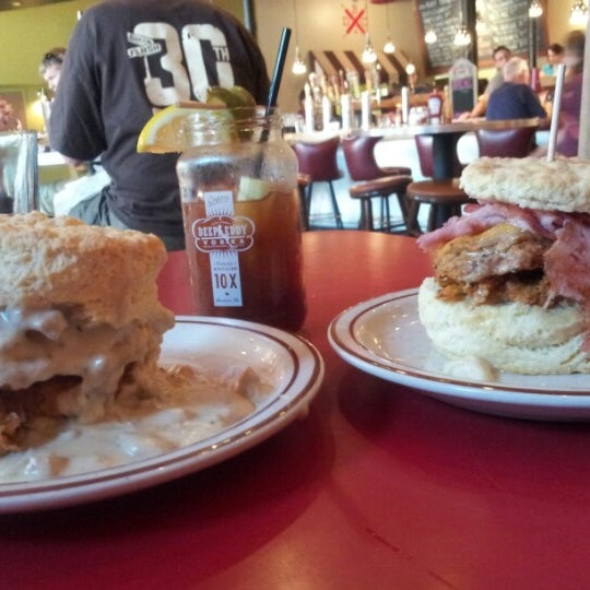 Photo taken at Denver Biscuit Company by Jared H. on 8/25/2012