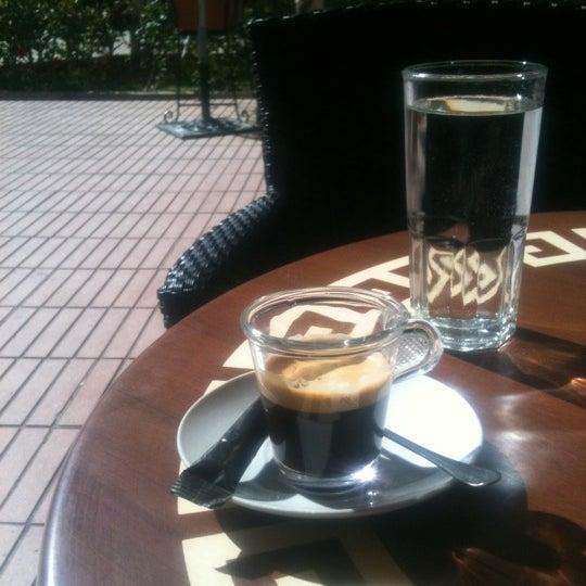 Photo taken at Café Diwan by Youssef B. on 5/6/2012