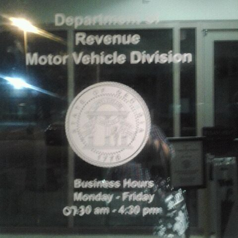 Department of revenue division of motor vehiclesdriver for Georgia bureau of motor vehicles