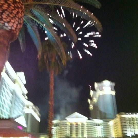 Photo taken at Caesars Palace Gardens by Jeremiah S. on 7/8/2012